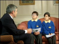 Nivar and Arian test the PM on his climate change knowledge