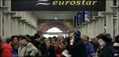Eurostar Trains cancelled