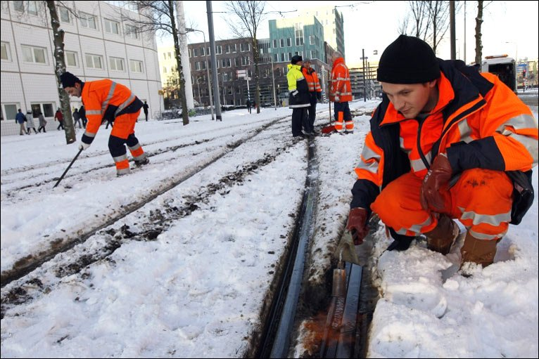 Bbc news in pictures europe s cold snap