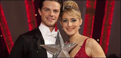 Ali Bastian win Christmas Celebrity Strictly Come Dancing