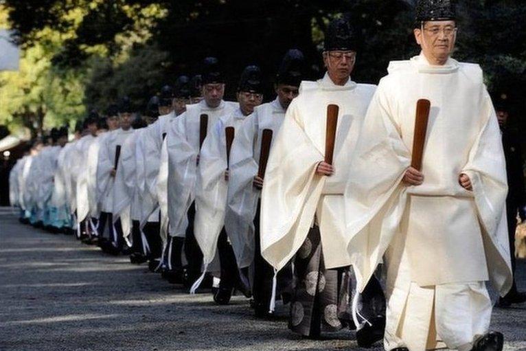 Image result for shinto japan practioner