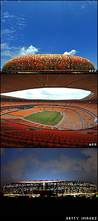 Soccer City in South Africa
