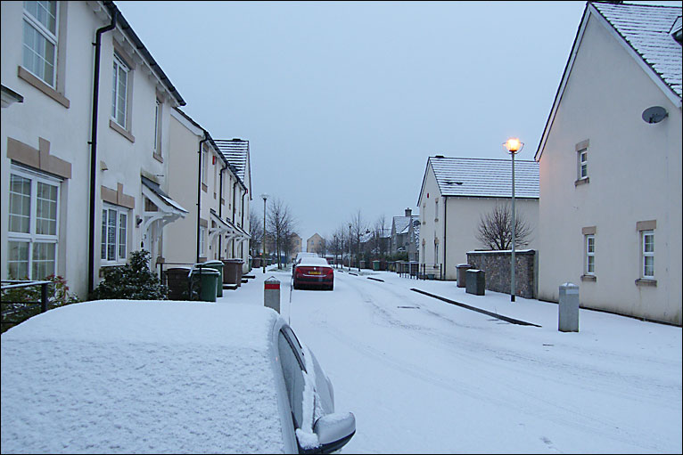 Bbc In Pictures Snow And Ice In Devon
