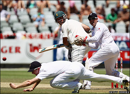 Graeme Smith batting for South Africa