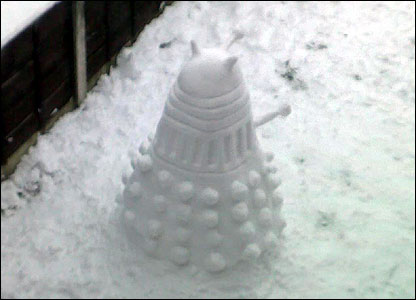 Another snow dalek