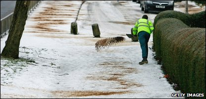 Gritters in Glasgow