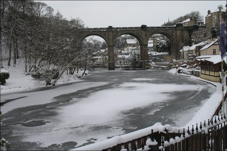 Knaresborough in Winter