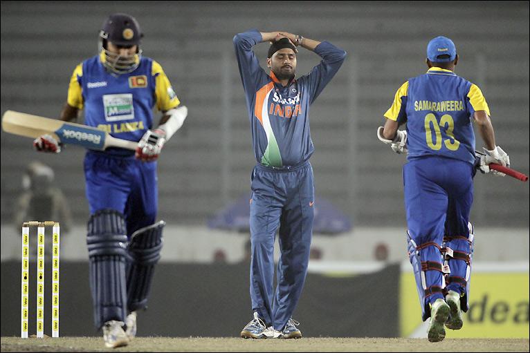 BBC Sport - Cricket - In pictures: India v Sri Lanka