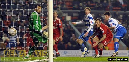 Shane Long's extra time goal that clinched the match for Reading