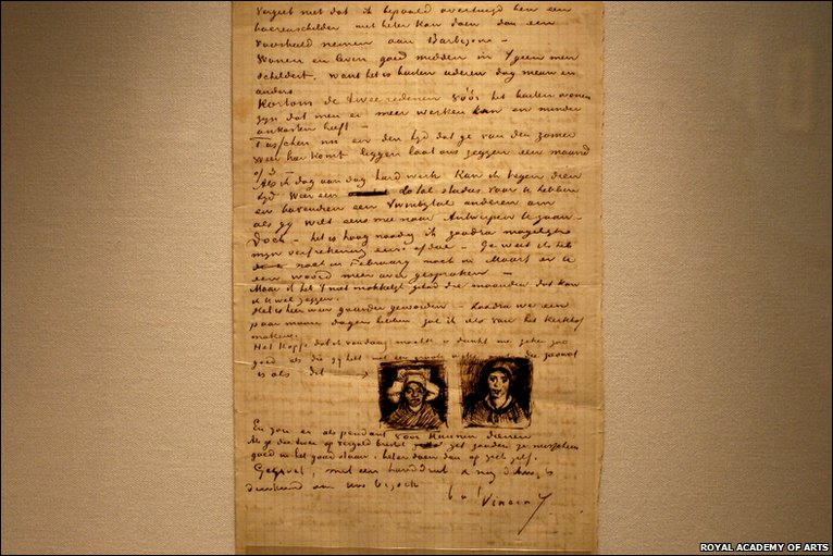 letter to theo c 4th april 1885 previously unseen handwritten letters by vincent van gogh