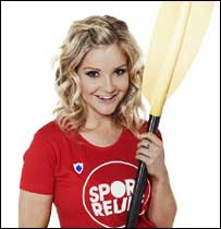Helen is doing the challenge for Sport Relief