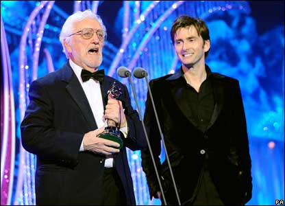 David Tennant and Bernard Cribbens