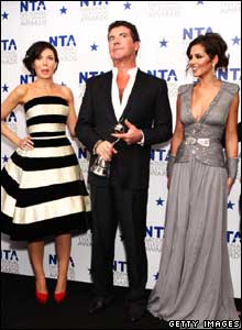 Dannii, Simon and Cheryl