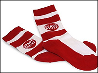Sport Relief socks