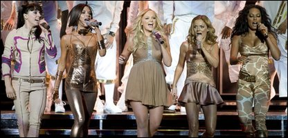 Spice Girls perform in Vancouver, Canada in 2007