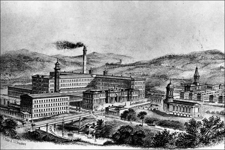 Industrial Revolution Mills With the industrial revolution