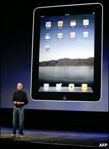 Apple chief Steve Jobs has unveiled the company's long-awaited and much-hyped tablet device, called the iPad.