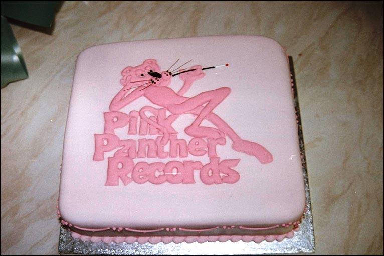 Pink panther cake birthday