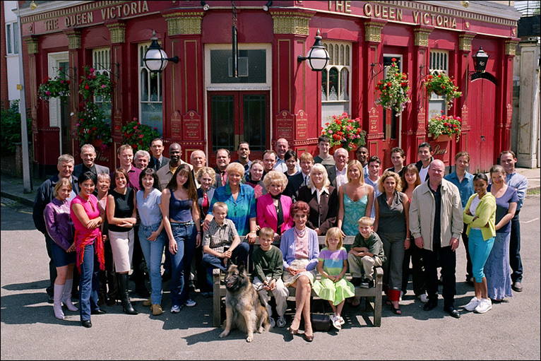 Bbc news in pictures eastenders through the years for Classic house voices