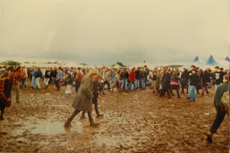 Mud At Reading Festival In 1992