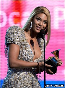 It was a great night for Beyonce. The pop star was up for 10 and won six - including song of the year for Single Ladies (Put A Ring On it).