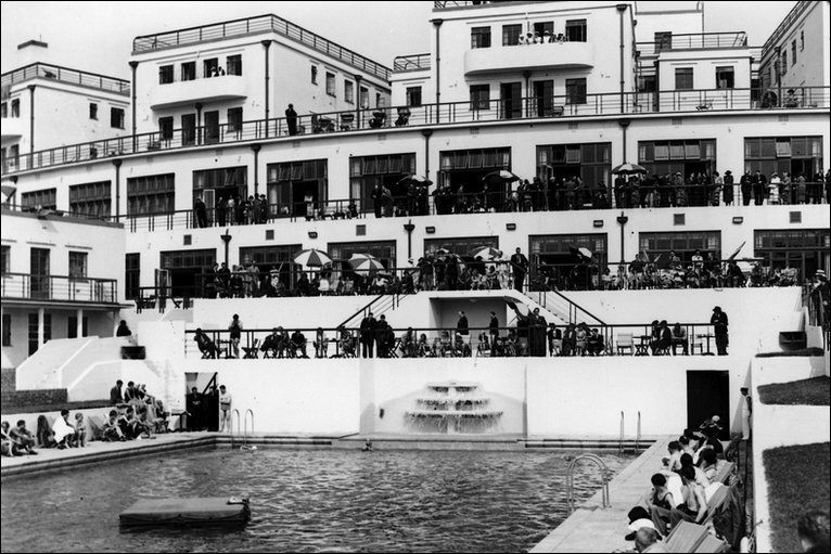 Bbc In Pictures The History Of The Grand Hotel In Saltdean