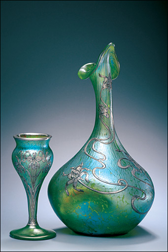 Bbc in pictures the anderson collection of art nouveau for Anderson art glass