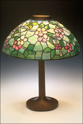 Bbc in pictures the anderson collection of art nouveau louis comfort tiffany lampshade c1900 glass lead anderson collection famous designers of art nouveau aloadofball Gallery