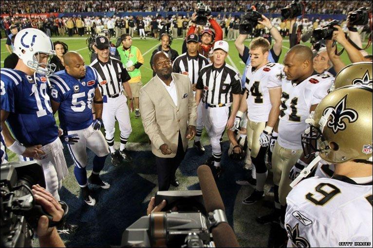 Bbc Sport American Football Super Bowl Xliv Photos