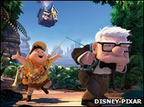 A still from UP