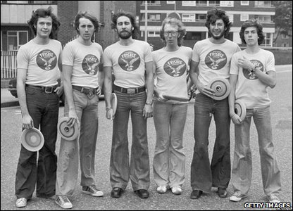 The British Frisbee Team, 1975