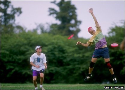 The Frisbee Disc Competition in Washington, 1995
