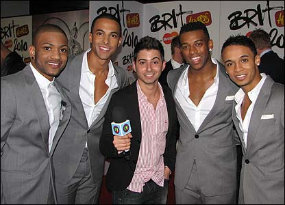 Ricky and JLS