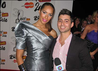 Ricky with Leona Lewis