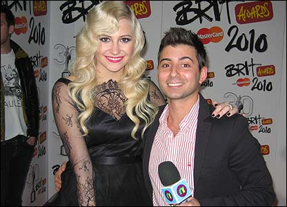Pixie Lott and Ricky