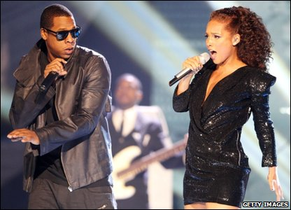 Jay Z and Alicia Keys