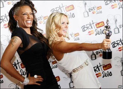 Mel B and Geri Haliwell