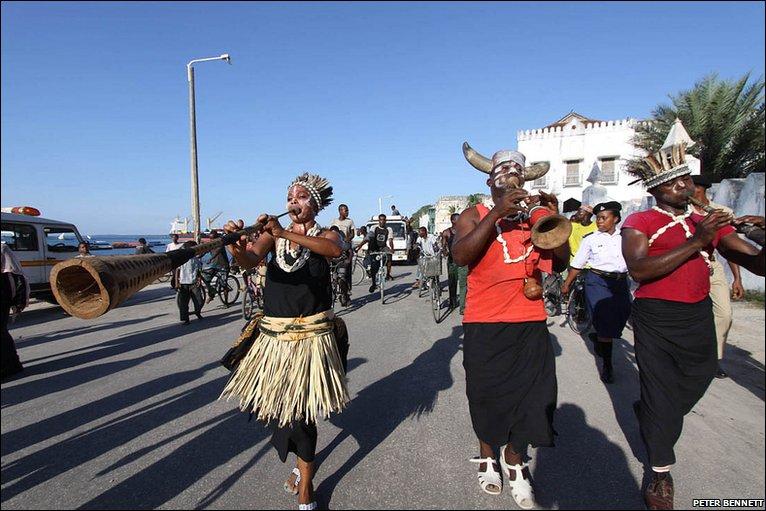 Bbc News In Pictures Music Lights Up Zanzibar