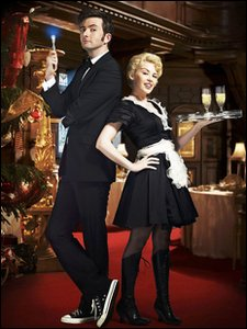 David Tennant and Kyle Minogue