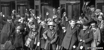 Children being sent to Australia in 1932. They were promised a 'better life'.