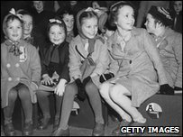 Orphans on their way to Australia in 1948