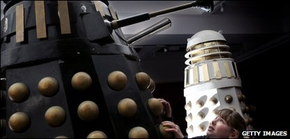 The Daleks which were sold at auction