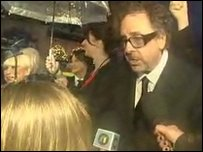 The director Tim Burton tells Toni all about the film