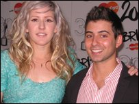 Ricky caught up with Ellie Goulding on the red carpet at the Brit Awards