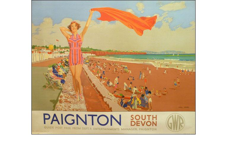 Apologise, torquay railway vintage poster not pleasant