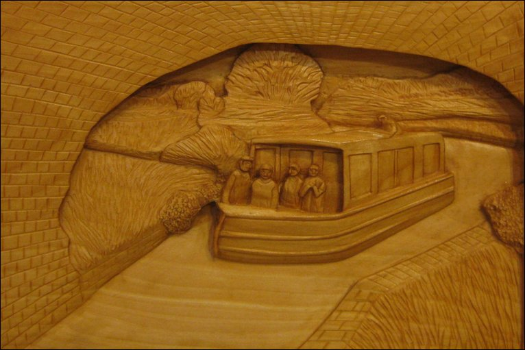 Bbc in pictures exhibition of oxfordshire wood carvings