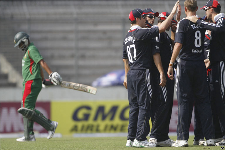 BBC Sport - Cricket - Bangladesh v England photos: 2nd one