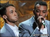 JLS accepting their Brit
