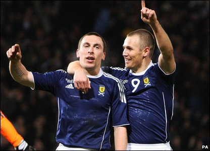Scott Brown and Kenny Miller