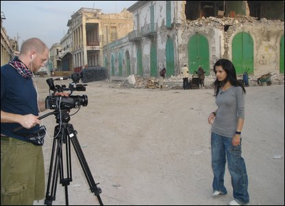 Sonali and the Newsround producer Andy spent five days in Haiti, talking to locals and filming what they found there for a Newsround Special.